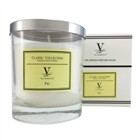 Classic Scented Candle - Fig Fragrance by Vila Hermanos