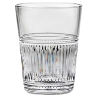 Crystal Art Deco Design Ice Bucket by Royal Scot Crystal
