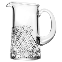 Crystal Tartan Design Water for Whisky Jug by Royal Scot Crystal