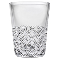Crystal Tartan Design Ice Bucket by Royal Scot Crystal