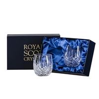 Pair London Design Gin & Tonic Glasses by Royal Scot Crystal
