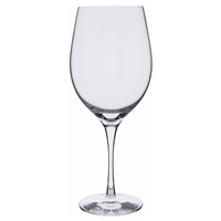 Pair Plain Bordeaux Red Wine Glasses. Wine Master Range by Dartington Crystal