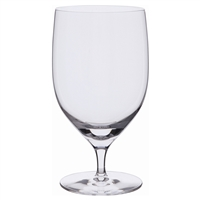 Pair Plain Mineral Water Glasses. Wine Master Range by Dartington Crystal