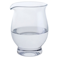 Small Crystal Water Splash Jug for Whisky by Dartington Crystal