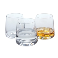 Gift Boxed Pair Classic Whisky Tumblers with Water Splash Jug by Dartington Crystal