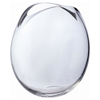 Large Crystal Vase from the Flora Range by Dartington Crystal