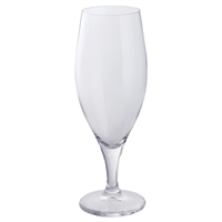 Pair of Traditional Crystal Beer or Pilsner Glasses by Dartington Crystal