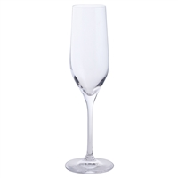 Pair of Simple Crystal Everyday Champagne Flute Glasses by Dartington Crystal