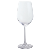 Pair of Simple Crystal Everyday White Wine Glasses by Dartington Crystal