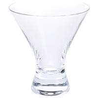 Box of Four Martini Cocktail Glasses by Dartington Crystal