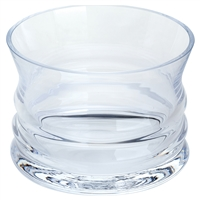 Wibble Glass Bottle Coaster by Dartington Crystal