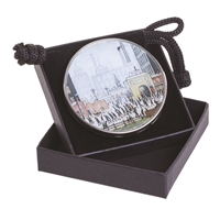 Pocket Handbag Compact Mirror Lowry's Coming From The Mill by John Beswick