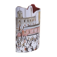 Ceramic Flower Vase L S Lowry Going to Work by John Beswick