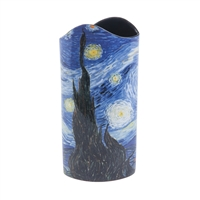 Ceramic Flower Vase Van Gogh Starry Night by John Beswick