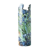Ceramic Flower Vase Van Gogh Irises by John Beswick