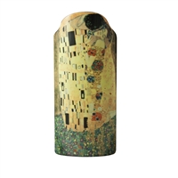 Ceramic Flower Vase of Klimt The Kiss by John Beswick