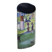 Porcelain Flower Vase George Seurat Sunday on the Grand Jatte by John Beswick