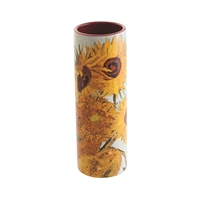 Porcelain Small Flower Vase Van Gogh's Sunflowers by John Beswick