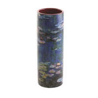 Porcelain Small Flower Vase Monet's Water Lilies by John Beswick