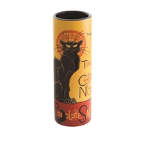 Porcelain Small Flower Vase Steinlen Le Chat Noir by John Beswick