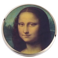 Pocket Handbag Compact Mirror Da Vinci Mona Lisa by John Beswick