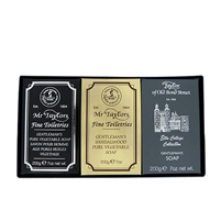 Taylors of Old Bond St Luxury Bath Soap Selection