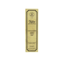 Sandalwood Luxury Shaving Cream Tube, 75ml
