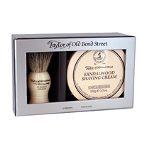 Taylors of Old Bond Street Sandalwood Shaving Set