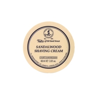 Sandalwood Luxury Shaving Cream Bowl, Travel Size 60 grams