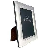 10 x 8 inch Sterling Silver Art Deco Style Photograph Frame