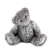 Pewter Theodore Bear Figurine by Royal Selangor