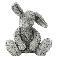 Pewter Hazel Rabbit Figurine by Royal Selangor