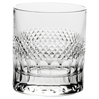 Crystal Diamonds Design Single Spirit Tumbler by Royal Scot Crystal