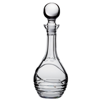 Crystal Saturn Design Wine Decanter by Royal Scot Crystal