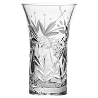 Crystal Marlborough Design Medium Flared Vase by Royal Scot Crystal