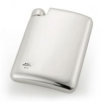 Contemporary Fine Pewter 160ml Hip Flask by Eric Magnussen and Royal Selangor