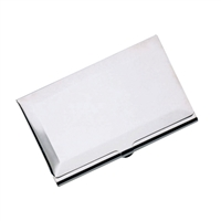 Sterling Silver Hinged Business Card Holder