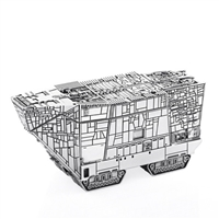 Star Wars Sandcrawler Pewter Trinket Box by Royal Selangor