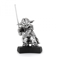 Star Wars Yoda Figurine on Plinth by Royal Selangor