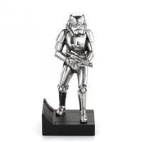 Star Wars Stormtrooper Pewter Figurine on Plinth by Royal Selangor