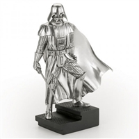 Star Wars Limited Edition Darth Vader Pewter Figurine on Plinth by Royal Selangor