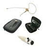 OSP HS-09 Tan EarSet Headworn Microphone For AKG Bodypack Wireless Systems
