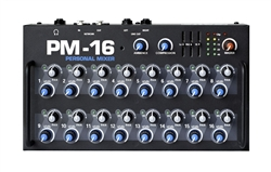 elite core pm-16 personal monitor mixer