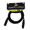 OSP SuperFlex GOLD Premium Microphone Cable 10 FT