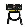 OSP SuperFlex GOLD Premium Microphone Cable 5 FT