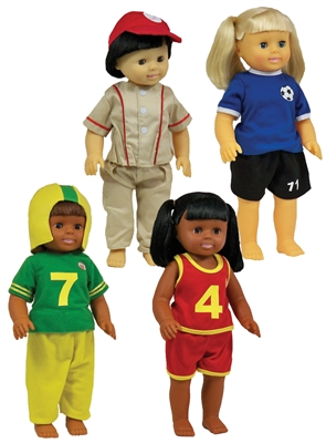 Get Ready Kids sports doll clothes