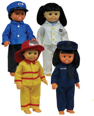Get Ready Kids career doll clothes