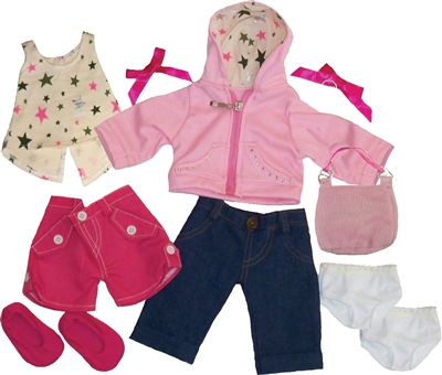 Get Ready Kids girl doll clothes