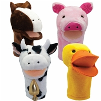 Get Ready Kids farm animal puppets