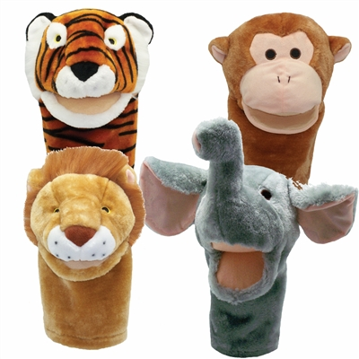 Get Ready Kids zoo animal puppets